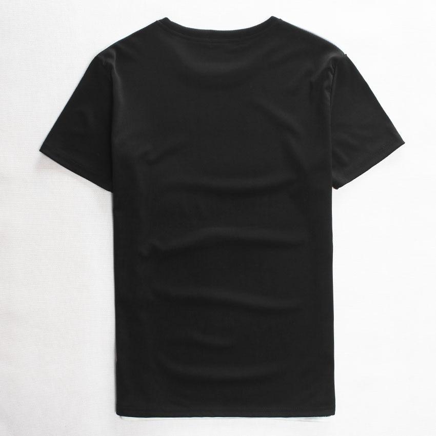 4f711cd17 US $6.4 28% OFF|2019 Summer Character Sexy Tops Short Sleeve Men/Women T  Shirt Black Star Rihanna Print Short Sleeve Casual 3D T shirt Top Tees-in  ...