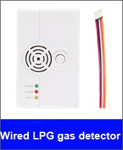 wired LPG detector