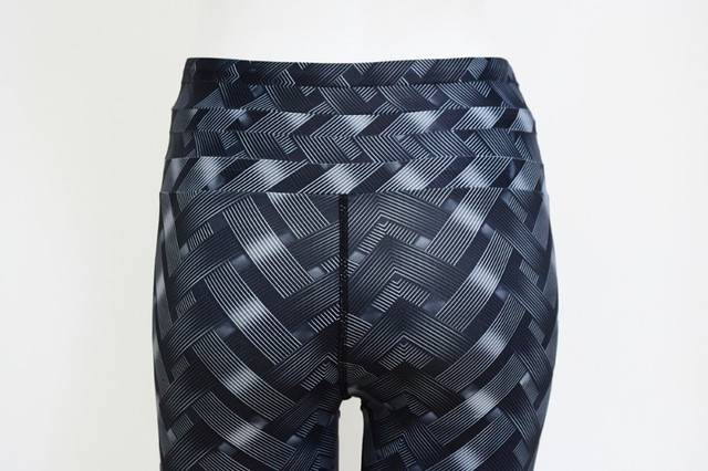 3D Printed Push Up Leggings With High Waist