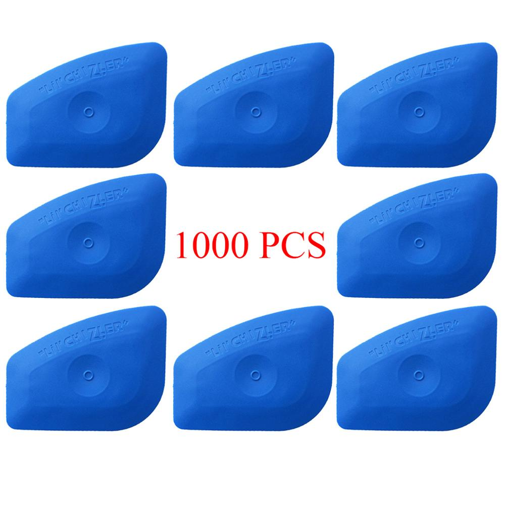 1000PCS Vinyl Wrapping Squeegee Curve Shape Edge Sealing Treatment Scraper Window Household Cleaning Tool Car Wash Brush A25B