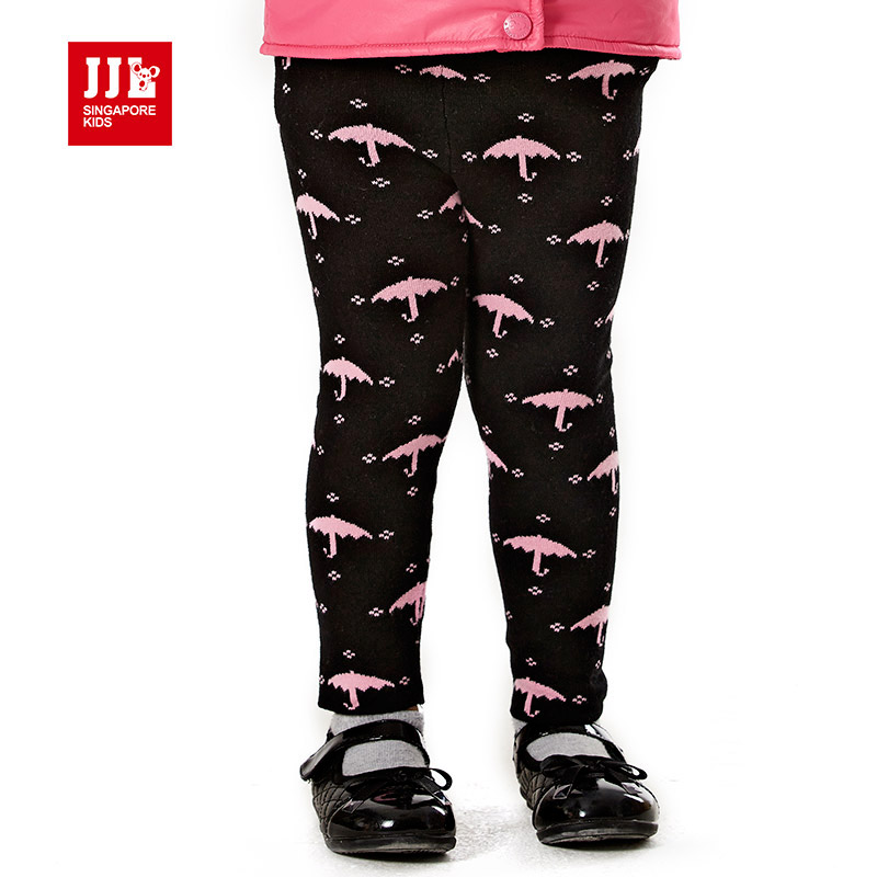 baby girl winter pants warm toddler legging umbrella pattern knitted pants casual trouser for baby girls