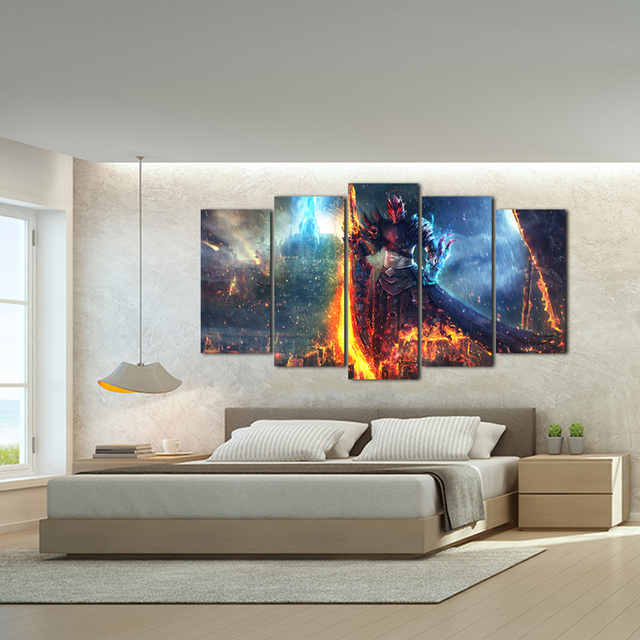 Modern Posters And Prints Oil Painting Canvas Wall Art Pictures For Living Room Home Decoration Free Shipping Abooly 1