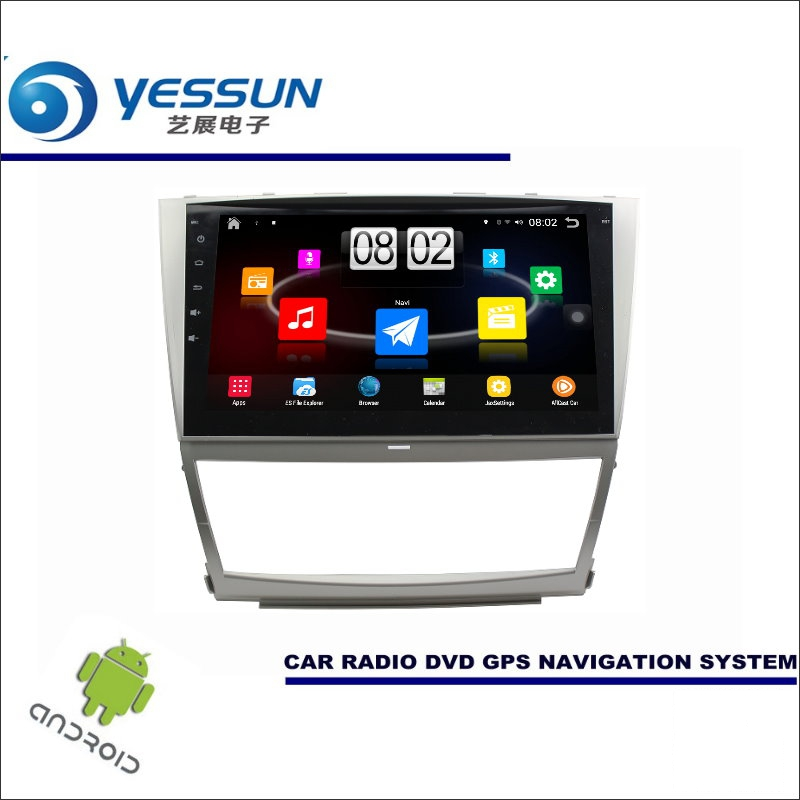 Yessun автомобиля Android мультимедийный плеер для Toyota Camry vx40 2006 ~ 2011 Радио стерео GPS Географические карты nav Navi (без CD DVD) 10.1 HD Экран