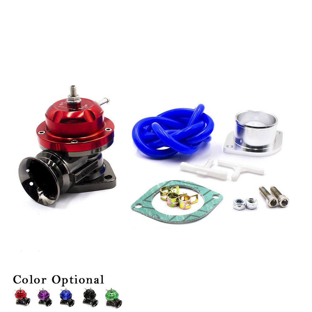 CNSPEED Universal Turbo Blow off Valve Adjustable 25psi BOV Blow dump/Blow off adaptor Blow dump adaptor brand new high quality bov turbo blow off valve for hks sqv4 ssqv4 better performance than sqv3 fast delivery