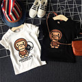 Retail Brand 2017 New 100% Cotton Kids Clothes Child tees Clothing For baby boys Girls unisex T shirts Top short Seeve Summer