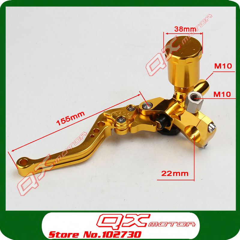 CNC Brake Master Cylinder Brake Pump For GY6 Scooter ATV Quad Motorcycle Modify Left Brake Free Shipping