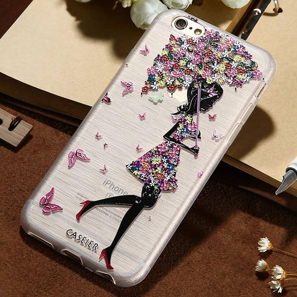 CASEIER Հեռախոսի պատյան iPhone 8 8 Plus 7 7 Plus Cover - Բջջային հեռախոսի պարագաներ և պահեստամասեր - Լուսանկար 2