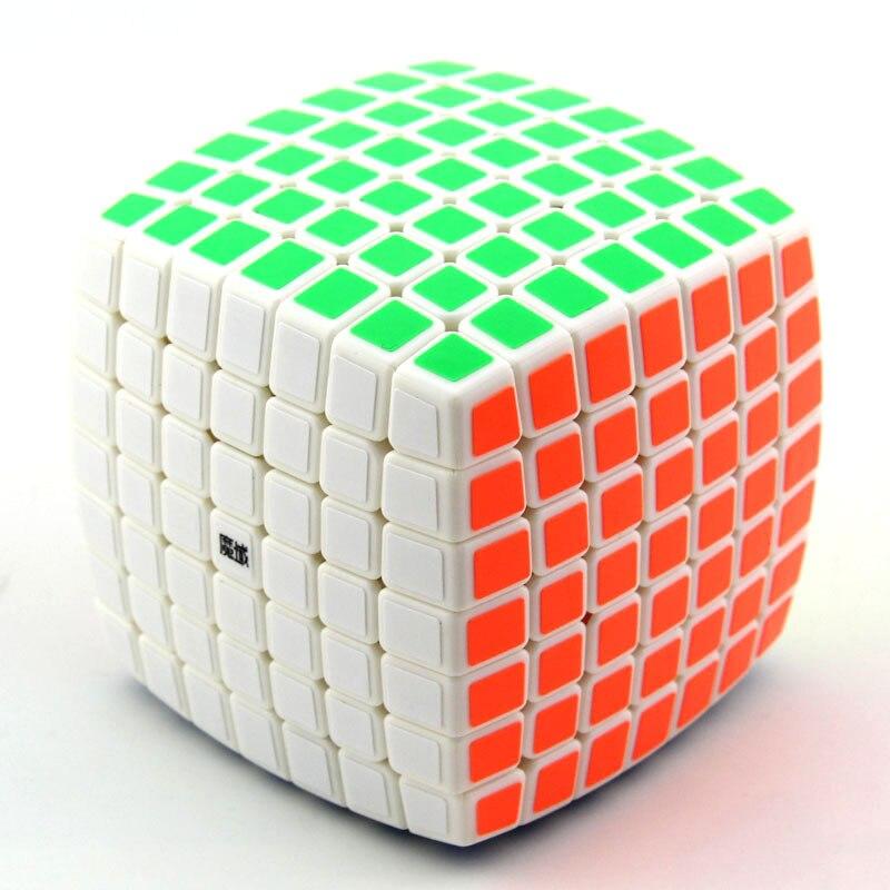 Cube néo professionnel 7x7x7 7.2 cm vitesse pour Cubes Magico Puzzle Antistress autocollant Cubo Magico pour enfants jouets éducatifs pour adultes