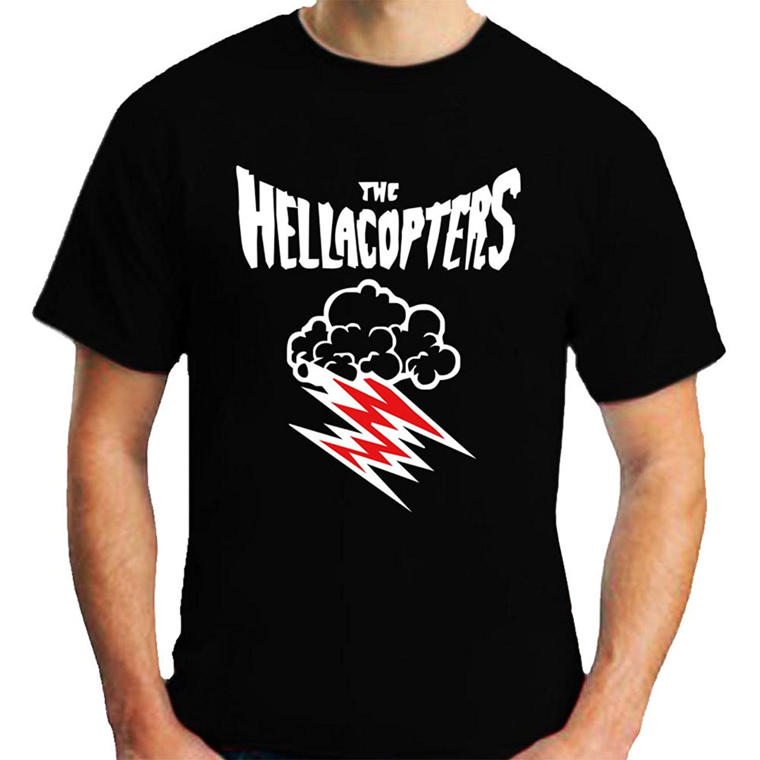 The Hellacopters Logo Rock Band Men/'s Black T-Shirt Size S to 3XL