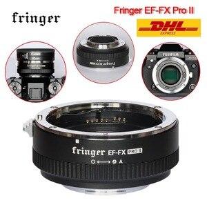 Image 4 - Fringer EF FX PRO II automatyczne ustawianie ostrości Adapter do mocowania Fujifilm do Canon obiektyw ef kompatybilny z Fujifilm X E EF FX2 PRO X H X T X PRO