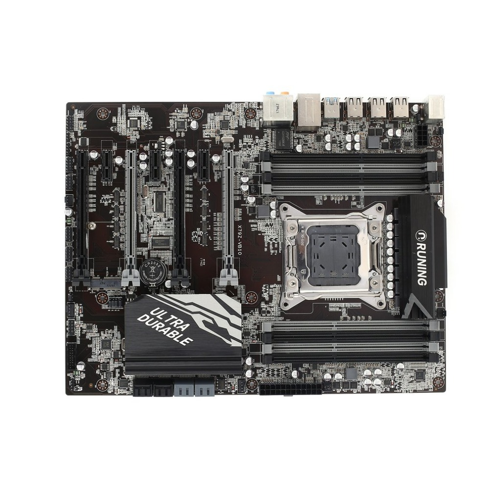 X79Z B10 Motherboard Intel CPU LGA2011 Intel CPU Interface ATX standard type structure 128GB Maximum memory capacity e5 3 3c motherboard lga2011 intel cpu interface atx standard type motherboard structure ddr3 memory for desktop