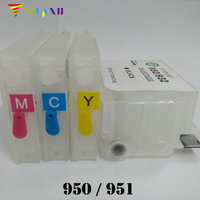 For HP 950 951 Refill Ink Cartridge For HP950 XL 951 XL Officejet Pro 8100 8100