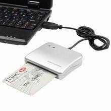 20 stücke Einfach Comm USB Smart Card Reader IC/ID karte Reader für Windows/ Linux/ MAC Hohe qualität