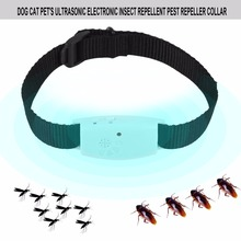 Dog Cat Pet's Ultrasonic Insect Repellent Pest Mosquitoes