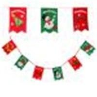New Year Home Decoration Christmas Decoration Home Bunting Banner Garland Props Santa Flag Santa S HatChristmas