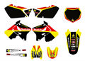 0009 New Style 3M TEAM DECALS STICKERS Graphics Kits FOR SUZUKI RM125 RM250 2001 2002 2003 04 05 06 07 08 09 10 2011 2012