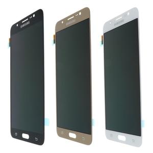 Image 5 - מקורי 5.5 סופר Amoled LCD עבור סמסונג גלקסי J7 2016 J710 J710F J710M J710G LCD תצוגת מסך מגע Digitizer החלפה