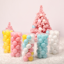 HOYVJOY New Year Beads Decorations 6cm 8cm Diameter Party Festival Decor DIY Wedding Supplies