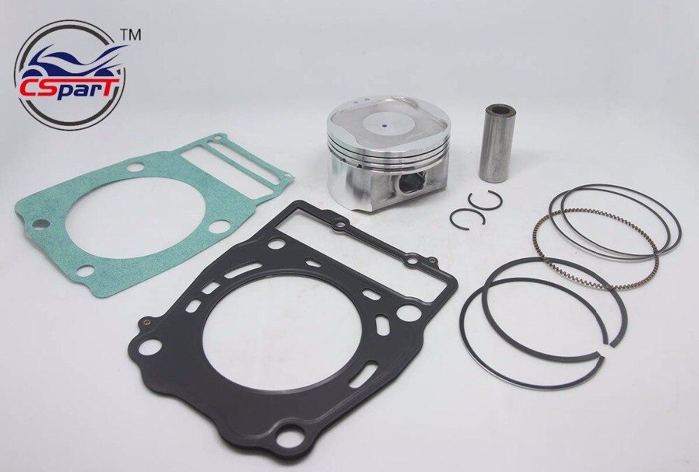 Kit de goupilles de segment de Piston de 92 MM 23 MM pour XinYang Kazuma Jaguar XinYang 500 500CC ATV UTV Quad pièces