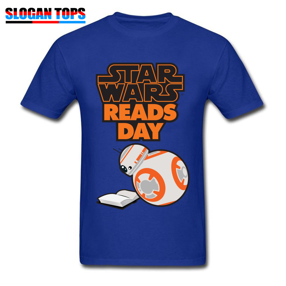 Men T-Shirt star wars aftermath Printed On Tops Tees 100% Cotton Round Neck Short Sleeve Normal Tee-Shirts VALENTINE DAY star wars aftermath blue