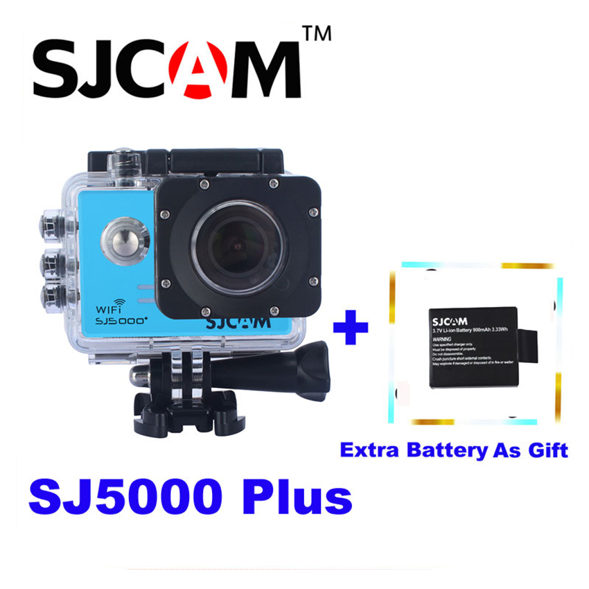 Extra Battery as Gift,Original SJCAM SJ5000 Plus WiFi Mini Sports Action Camera 30M Waterproof Sports Sj Cam DVR original sjcam m20 wifi 4k 24fps 30m waterproof sports action camera sj cam dvr 2 extra battery dual charger remote monopod