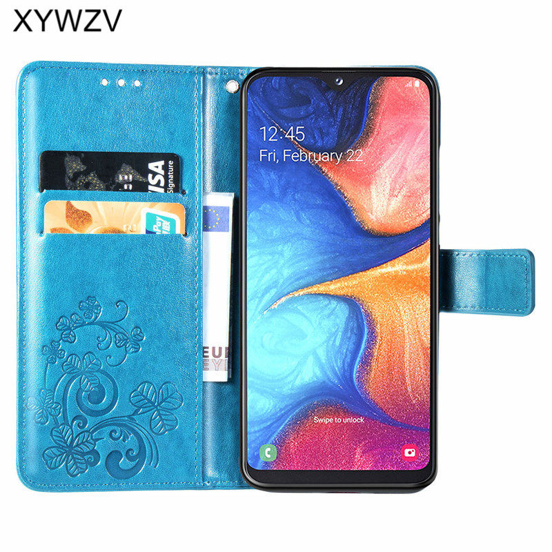 Image 2 - For Samsung Galaxy A20E Case Soft Silicone Filp Wallet Shockproof Phone Bag Case Card Holder Fundas Back Cover For Samsung A20e-in Flip Cases from Cellphones & Telecommunications