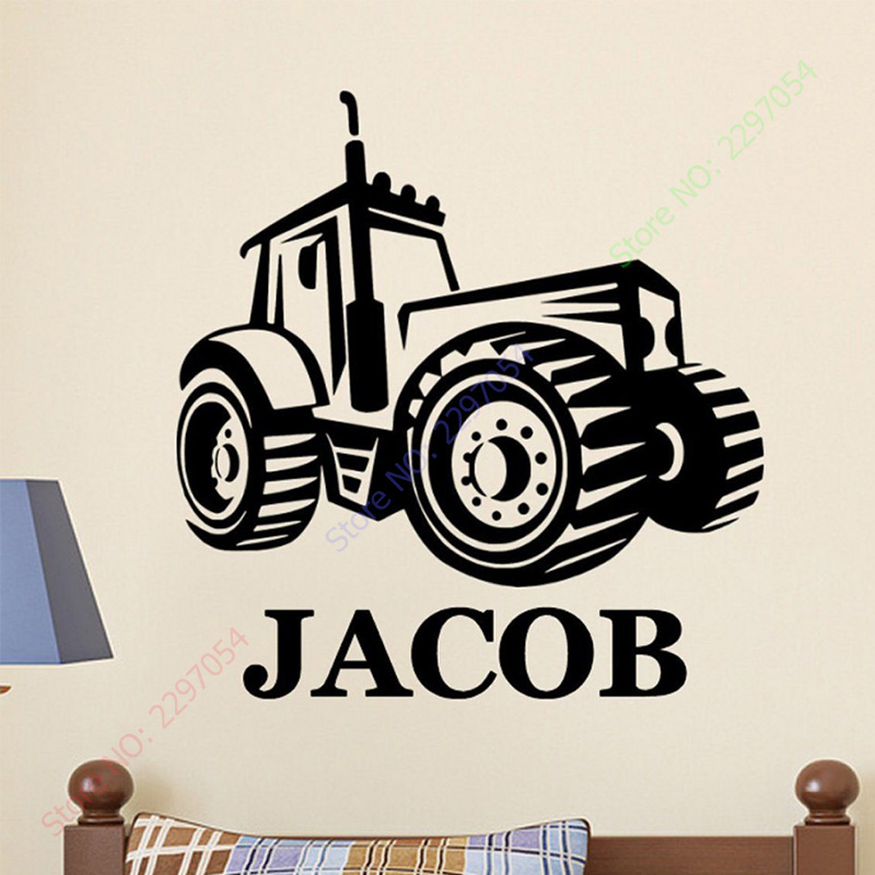 Personalised ANY NAME Party Decorations Tractor 1st Birthday Banner x 2