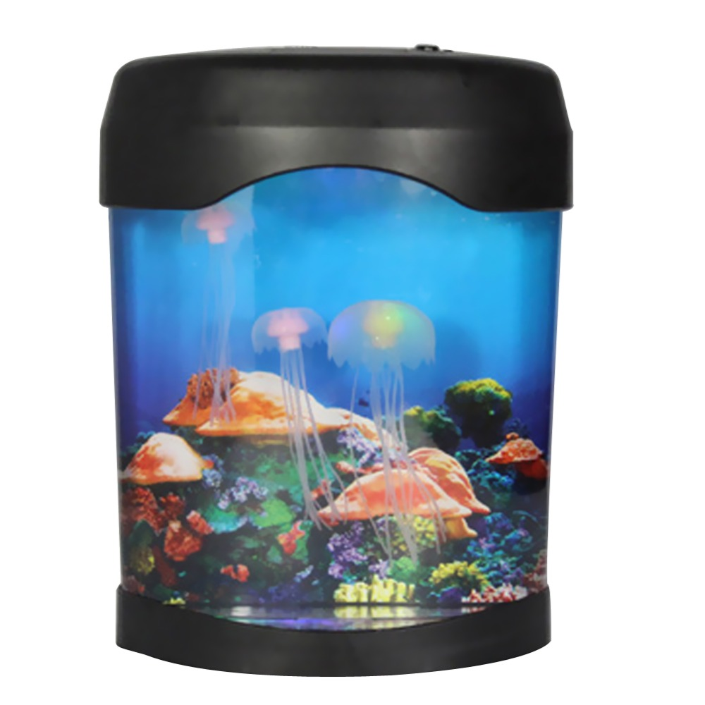 Fish tank night light - Aliexpress Com Buy Sea World Led Jellyfish Fish Tank Aquarium Lamp Nightlight Light Multicolor Aquarium Accessories From Reliable Jellyfish Fish Suppliers