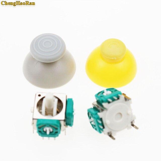 Mezcla color 500 Uds reemplazo para Nintendo Game Cube controlador izquierdo derecho tapas de palanca de mando Cap para control NGC botón