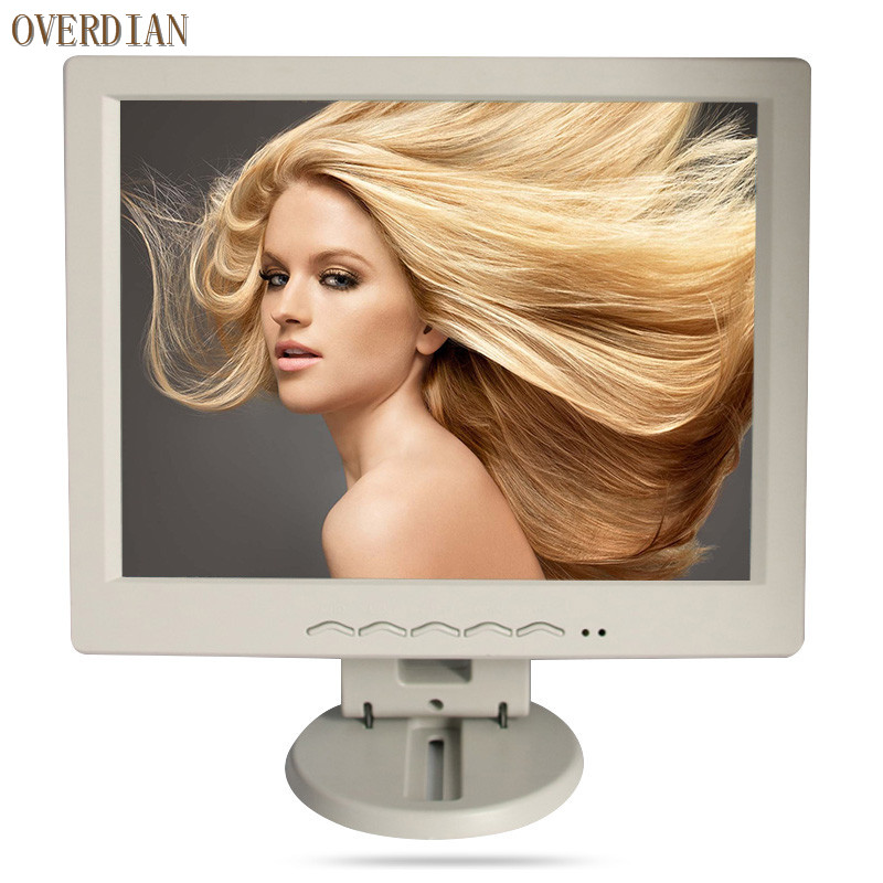 12 inch / 12.1 inch Vga/Usb Connector Monitor Song Machine Cash Register Square Screen Resistive Touch Lcd Monitor/Display