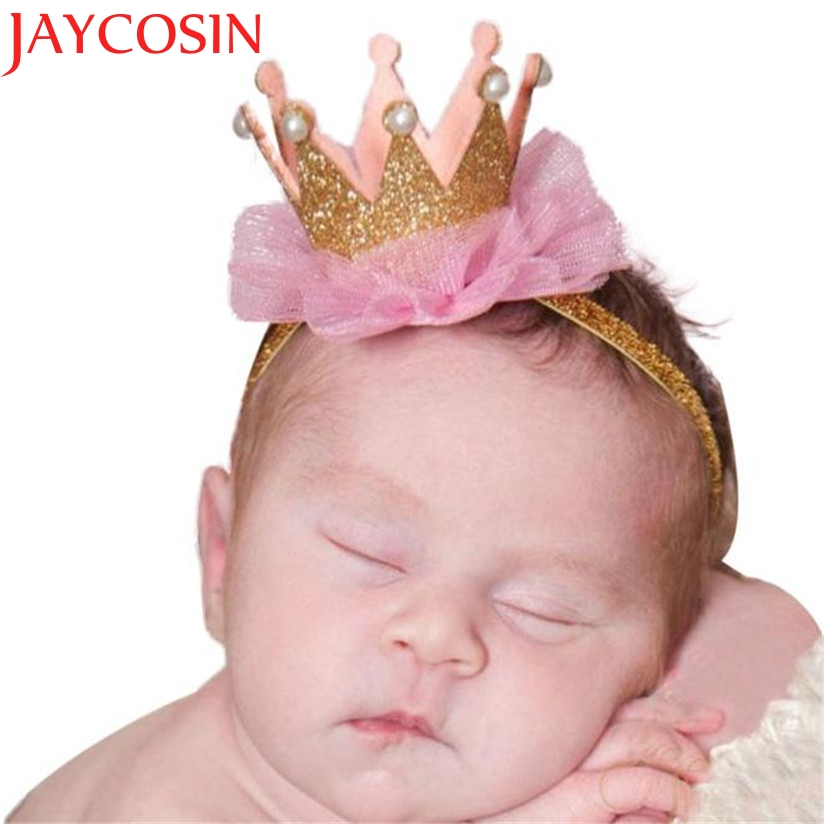 JAYCOSIN Elastic Flower Crown Headwear hair accessories Girl headband cute hair band newborn floral headband цены онлайн