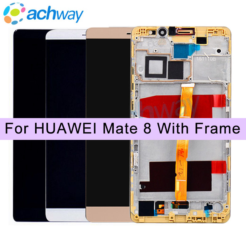 100% Tested White 1920x1080 HUAWEI Mate 8 LCD Display Touch Screen with Frame Digitizer Assembly For 6.0HUAWEI Mate 8 LCD100% Tested White 1920x1080 HUAWEI Mate 8 LCD Display Touch Screen with Frame Digitizer Assembly For 6.0HUAWEI Mate 8 LCD