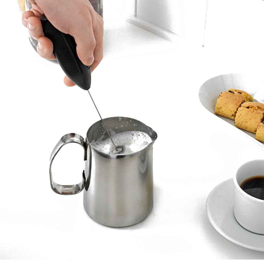 Hot Drinks Milk Coffee Frother Foamer Whisk Mixer Stirrer Electric Mini Egg Beater