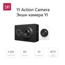 YI Действий Камеры 1080 P 16.0MP 155 градусов Ультра-широкоугольный 3D Шумоподавления Wi-Fi Спорт Мини Камеры