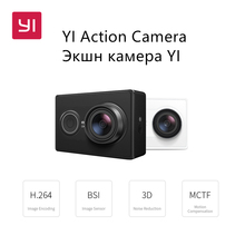 YI Action Camera 1080P 16.0MP 155 degree Ultra-wide Angle 3D Noise Reduction WiFi Sports Mini Camera