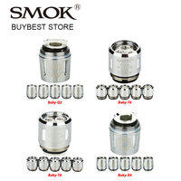 5pcs SMOK V8 Baby Coil Head Baby T6 Sextuple Baby T8 Octuple 0 15ohm Baby X4