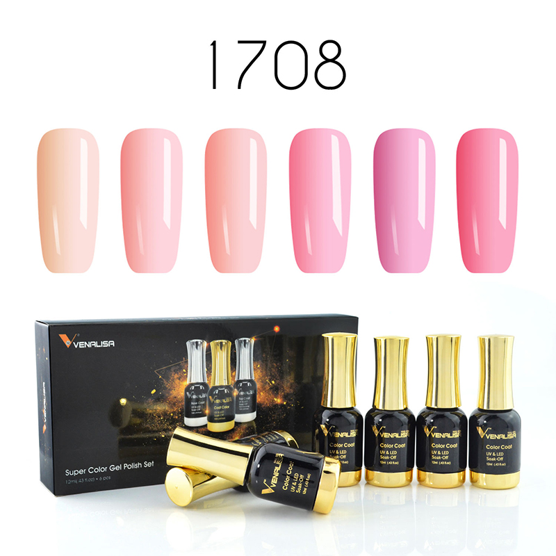 купить Venalisa Gel Nail Polish 12ml Soak off UV LED Gel Varnish For Nail Salon Professional Used Long Lasting Gel Nail Lacquer онлайн