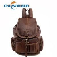 Chuwanglin New backpack women vintage travel bags trend waterproof school bag casual feminine backpacks S1803