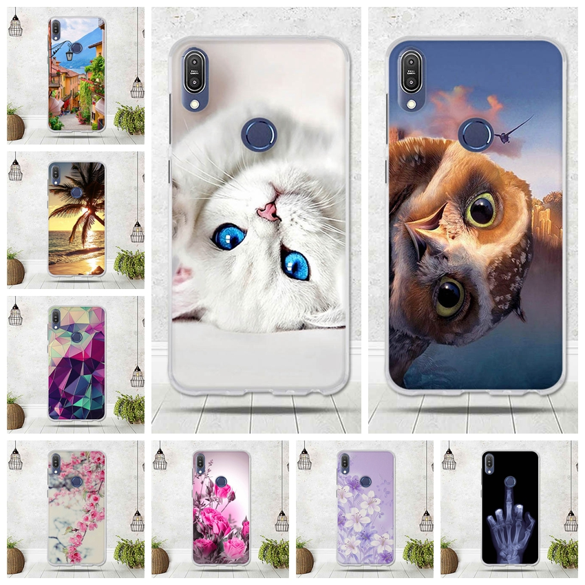 For Asus Zenfone Max Pro (M1) ZB601KL Case Cover Soft TPU Silicone Phone Case For Asus Zenfone Max Pro (M1) ZB601KL Cover Capa
