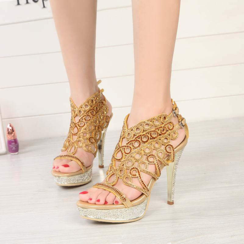 Mariage Strass Chaussures Sandales forme purple Tenis Cyabmoz Feminino Party De Sexy Talons Gold Dance black Femmes Mince Plate Des Femme Valentine silver Haute red wzq4IY6g4