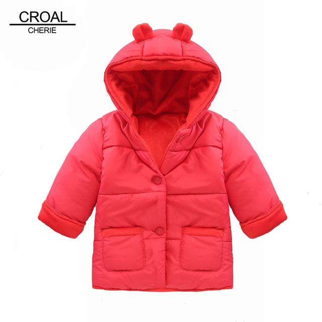 911493ad26a5 Winter Baby Snowsuit Warm Jackets   Coats Girls Designer Baby ...