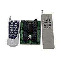RF 12 v interruptor de control remoto inalámbrico, 12 conmutadores de Canal de Control Remoto Transmisor 315 MHz SKU 5031