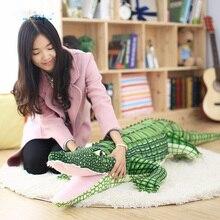 105/165 см мягкие животные настоящая жизнь Аллигатор плюшевые игрушки игрушечные крокодилы Kawaii ceatory подушка для детей день рождения Gifti