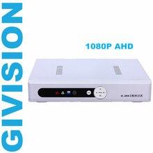 Promo offer 4CH 1080N 1080P AHD DVR NVR 4 channel for 1080P Analog HD AHD CCTV Camera  Network digital video audio recorder IP Camara