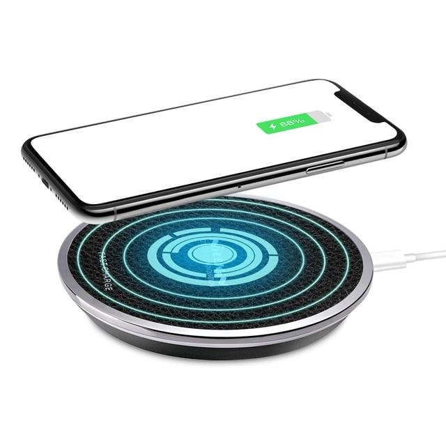Carregador sem fio 10w/5w nillkin qi rápido carregamento sem fio para samsung galaxy s20/s20 ultra para iphone 11/11 pro/xs oneplus 8 pro