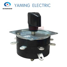 цена на Yaming electric Welder Welding Machine Switch 25A 2 poles 9 pins terminals Changeover Rotary Switch KDH-25/1-8