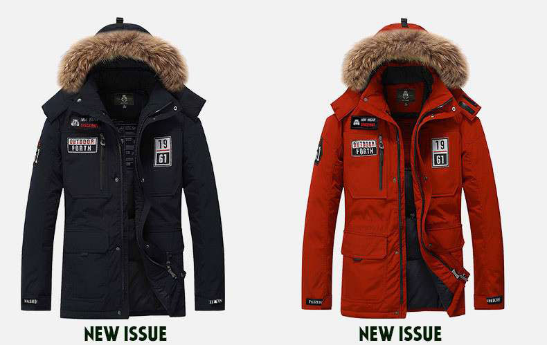Thick Collar Parka discount 7