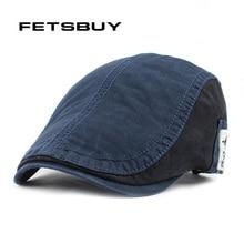 Compra cotton hat adjustable gorras planas boinas berets y disfruta ... fce2807d653