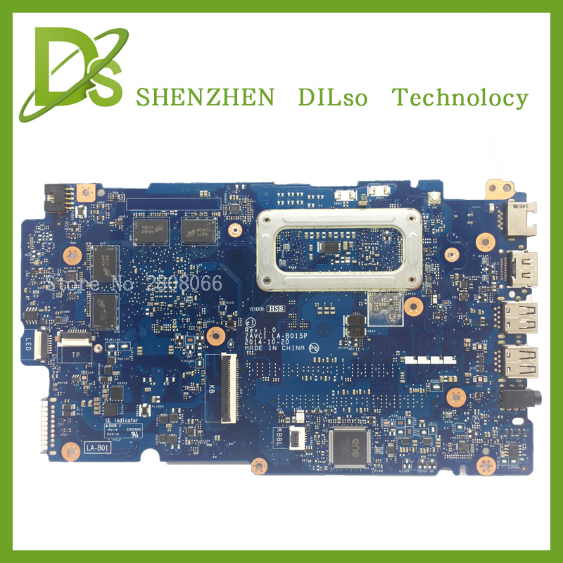For Dell 5448 LA-B015P motherboard rev1.0 with graphics card i5-5200u dell 5448 DDR3L 100% tested freeshipping