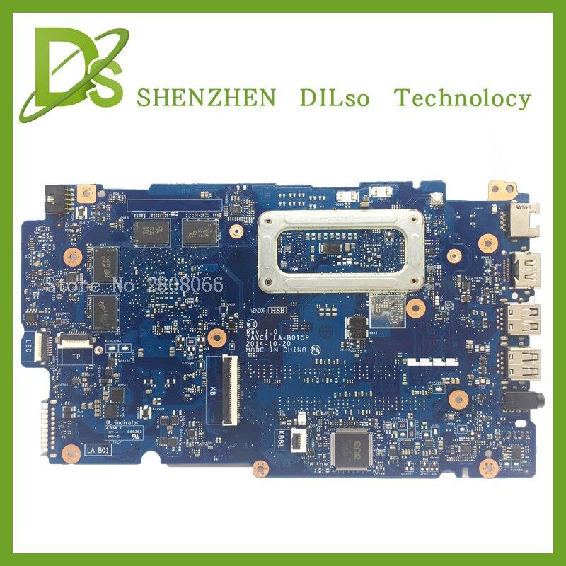 KEFU LA-B015P para dell 5448 LA-B015P motherboard rev1.0 con tarjeta gráfica i5-5200u dell 5448 DDR3L prueba trabajo 100%